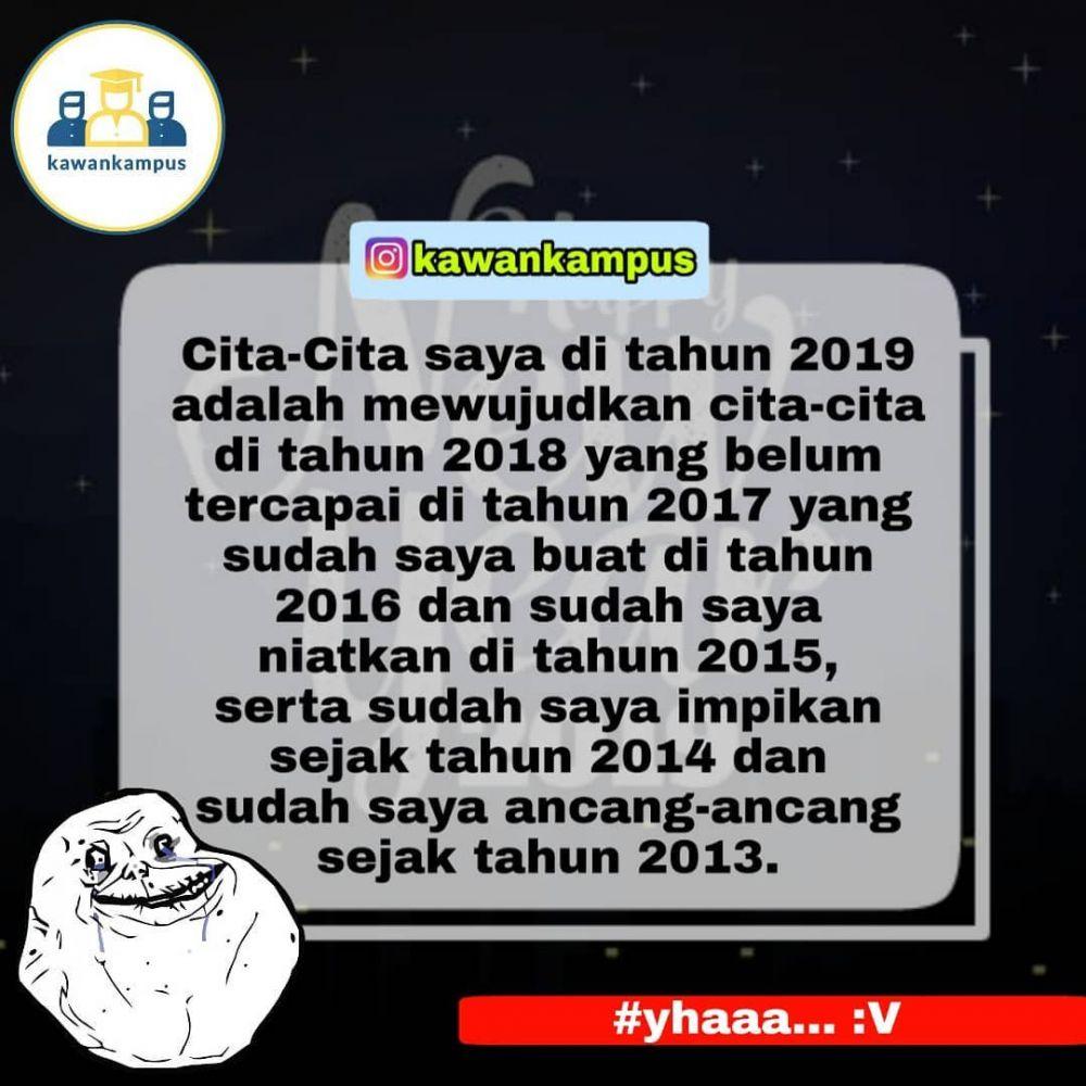 meme lucu harapan 2019 © berbagai sumber
