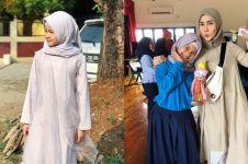 10 Pesona Kayla Aeeshya, putri Arie Untung yang sudah berhijab