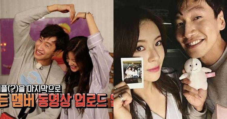 Resmi pacaran, ini 8 momen romantis Lee Kwang-soo & Lee Sun-bin