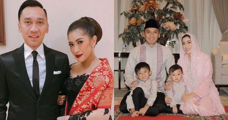 15 Potret Ibas Yudhoyono umrah ajak istri & tiga anaknya
