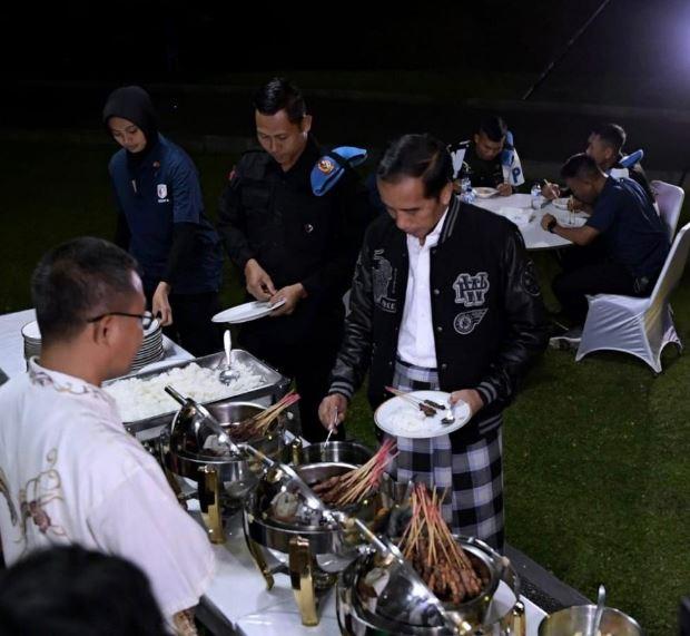 Kegiatan Jokowi di Malam Tahun Baru 2019 istimewa