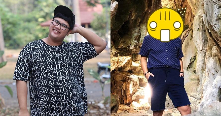 10 Transformasi Ricky Cuaca yang kian langsing, bikin pangling