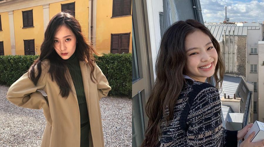 beda gaya Krystal dan Jennie  © 2019 brilio.net