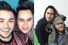 7 Potret persahabatan Ivan Gunawan & Nassar, disebut kembar
