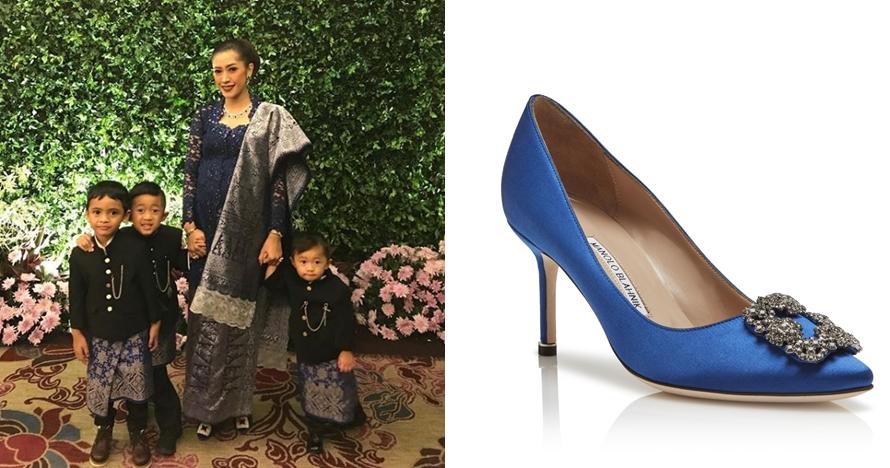 Sepatu heels istimewa
