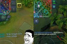 15 Chat lucu pemain Mobile Legends, bikin emosi tapi ngakak juga