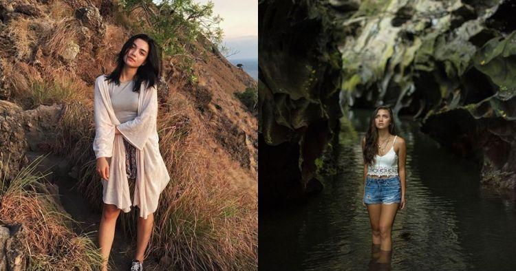 12 Gaya traveling Angela Gilsha jelajahi Indonesia, kece abis