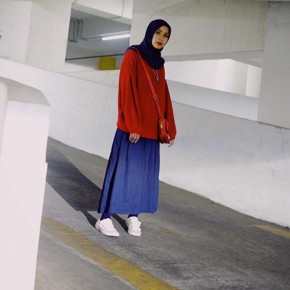 OOTD Zaskia Adya Mecca © 2019 brilio.net