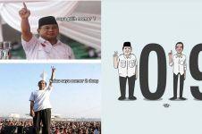 10 Meme lucu Jokowi-Prabowo, bikin suasana adem jelang Pilpres