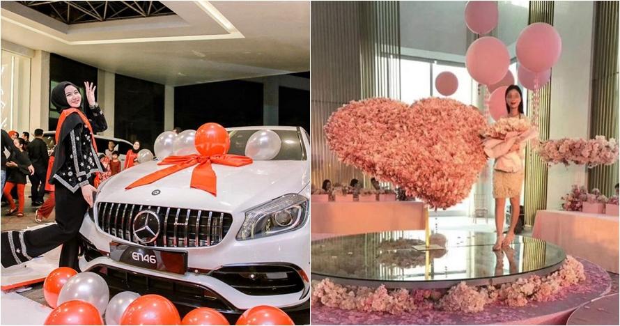 5 Orang diberi kado mewah di ulang tahun, ada mobil Rp 5 miliar