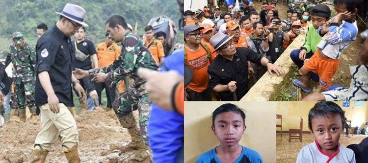 Yatim piatu korban longsor Cisolok jadi anak asuh Ridwan Kamil