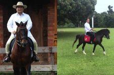 Sama-sama penyuka hewan, ini beda peliharaan Jokowi & Prabowo