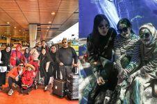 11 Potret liburan Raffi Ahmad, Irwansyah & Baim Wong ke Jepang