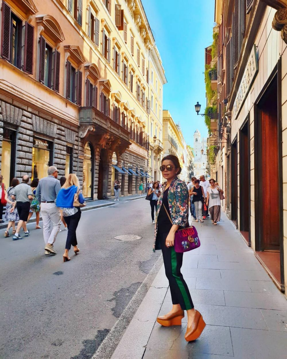 gaya mayangsari liburan  © 2019 brilio.net