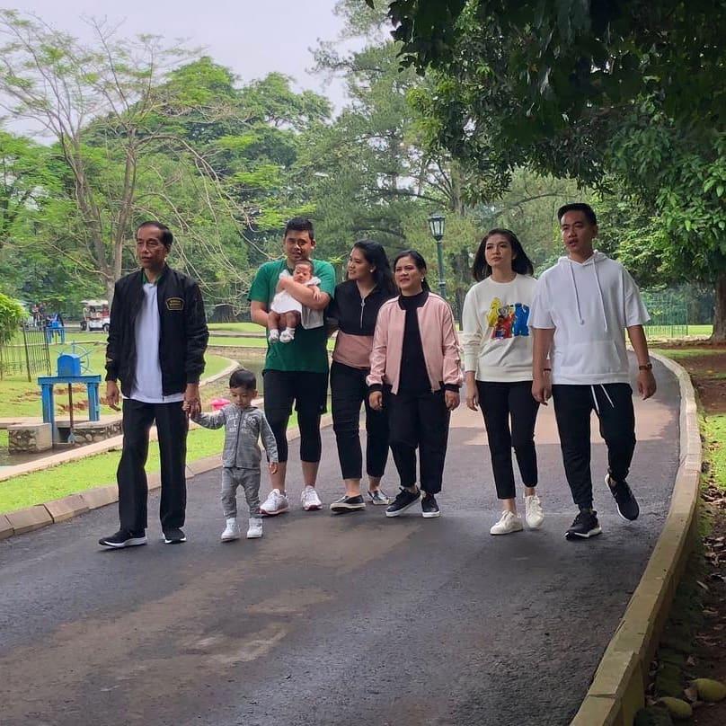 keluarga jokowi prabowo © 2019 brilio.net