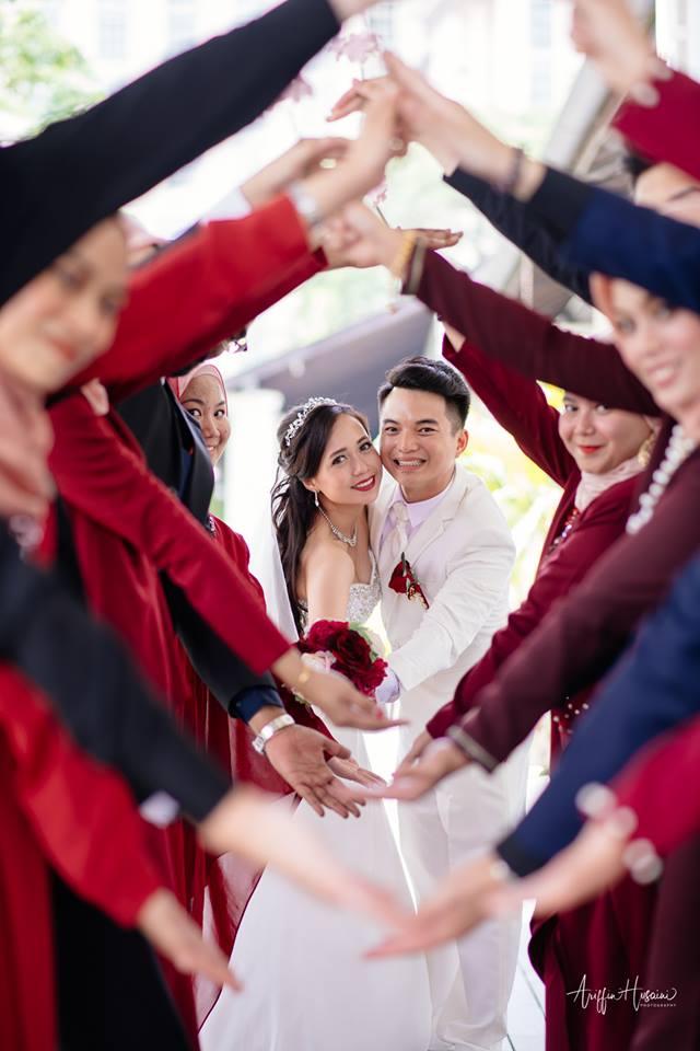 bridesmaid contoh toleransi © Facebook/Ariffin Husaini
