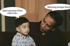 10 Obrolan imajiner Jan Ethes dengan Jokowi ini ceriakan harimu