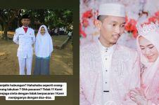 Viral kisah cewek dinikahi ketua MOS galak waktu SMA tanpa pacaran