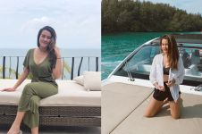 14 Gaya liburan Aaliyah Massaid ini bikin gagal fokus