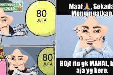 9 Meme lucu uang Rp 80 juta ini bikin tepuk jidat