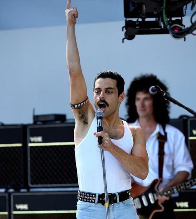 Rami Malek as Freddie Mercury  © 2019 brilio.net