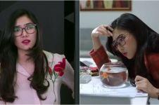 10 Gaya kocak Isyana Sarasvati, lucu seperti di film Milly & Mamet