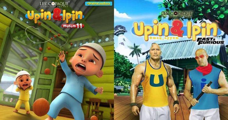 11 Meme lucu Upin Ipin saat tumbuh dewasa ini bikin ketawa geli