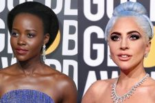10 Seleb dengan makeup terbaik di red carpet Golden Globes 2019
