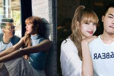 10 Foto editan lucu cowok narsis bareng Lisa Blackpink, kepedean