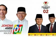 Elektabilitas Jokowi-Ma'ruf Amin unggul dari Prabowo-Sandi