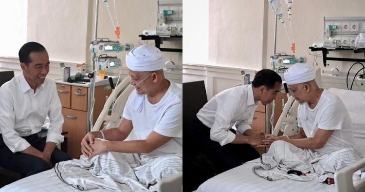 Jenguk Ustaz Arifin Ilham, begini dukungan dan doa Jokowi