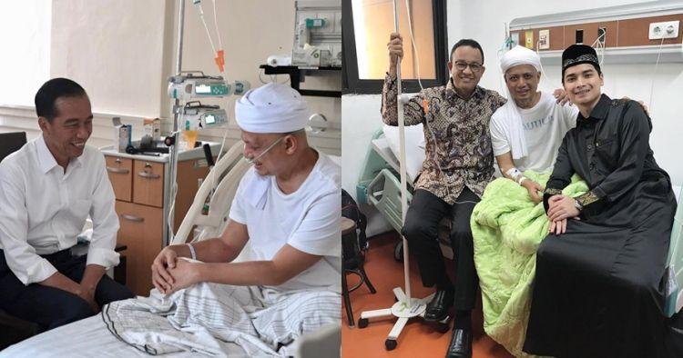 6 Politisi jenguk Ustaz Arifin Ilham, terbaru Jokowi