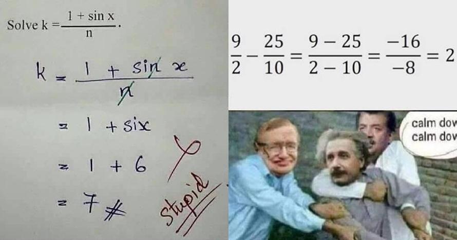 15 Jawaban soal matematika ini bikin guru auto kesal