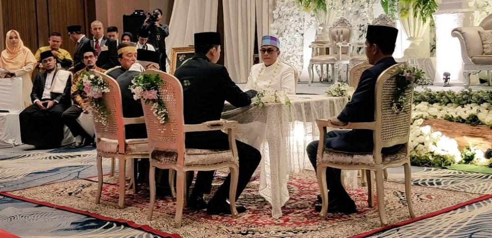 anak maruf amin menikah © 2019 brilio.net