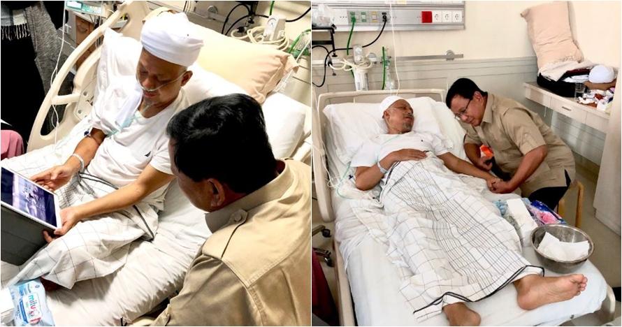 Momen Prabowo jenguk Ustaz Arifin Ilham, tunjukkan video berkuda