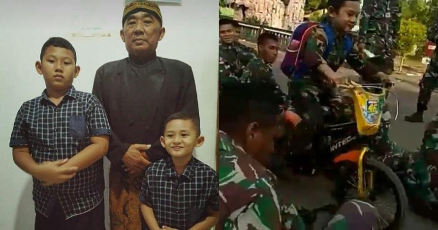 Ini pengakuan ayah bocah tabrak senapan di markas TNI