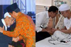 5 Momen Jokowi menunduk saat salaman dengan tokoh karismatik