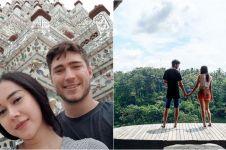 12 Potret honeymoon Aura Kasih dan Eryck Amaral, mesra banget