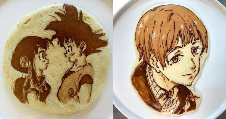 12 Kreasi pancake bergambar anime, kreatifnya juara