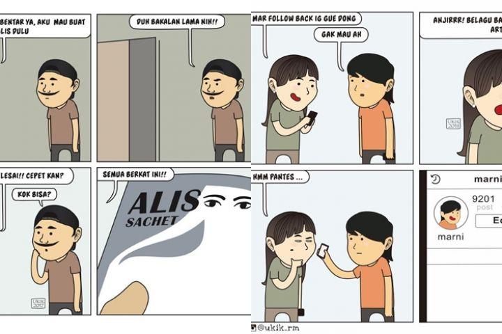 12 Komik strip lucu 'asal cewek senang' ini kocak abis