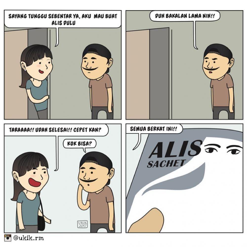 komik cewek senang © 2019 berbagai sumber