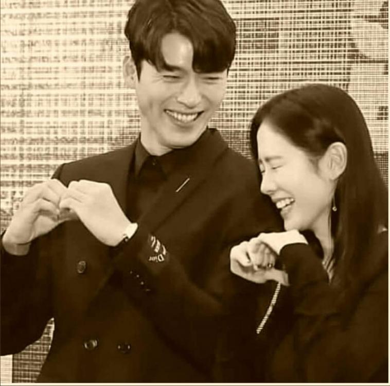 Hyun Bin Son Ye-jin instagram