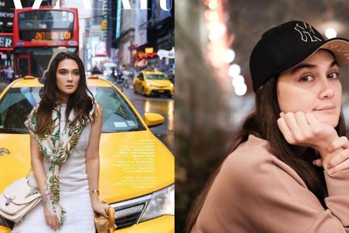 9 Fashion item Luna Maya saat liburan, harganya fantastis