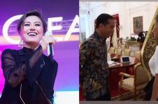 Agnez Mo ketemu Jokowi di istana, ngevlog hingga minta dukungan