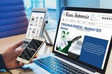 Update berita bisnis lebih gampang pakai aplikasi Bisnis Indonesia