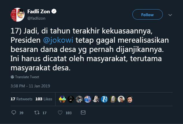 politisi kritik jokowi © 2019 brilio.net
