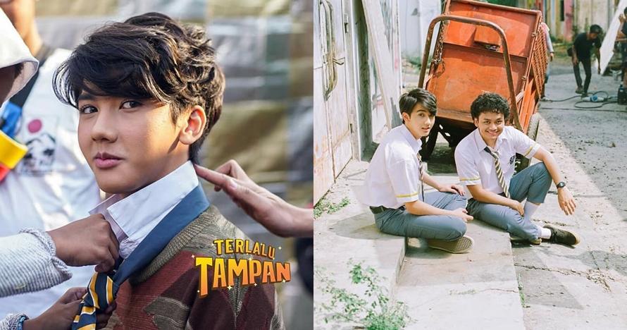 10 Gaya Ari Irham saat syuting 'Terlalu Tampan', cakep dan imut