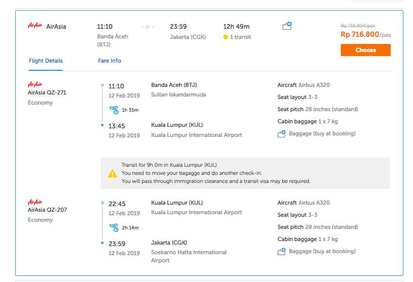 Pesawat Jakarta Aceh Via Kuala Lumpur Lebih Murah Dari Rute Lain