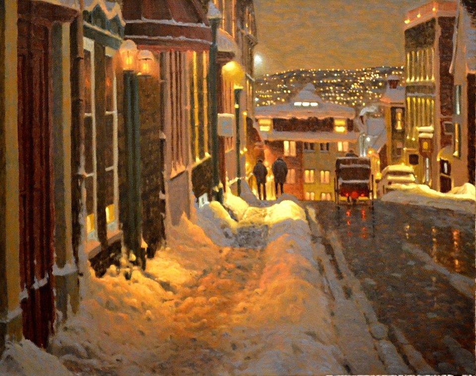 lukisan Richard Savoie facebook