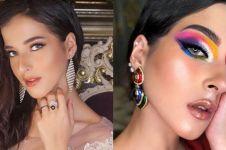 8 Kreasi eyeshadow cetar Tasya Farasya, tampil berani